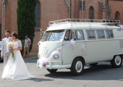 combi cortège mariage toulouse
