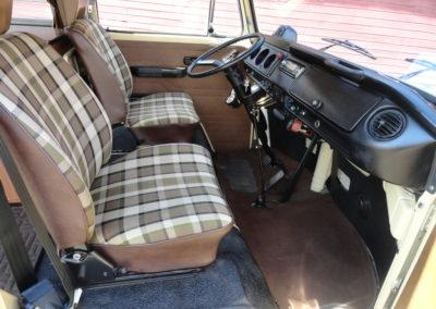 furgon aménagé vintage