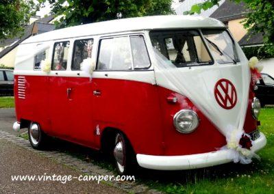 combi rouge et blanc pour mariage en aquitaineplus original qu'une limousine