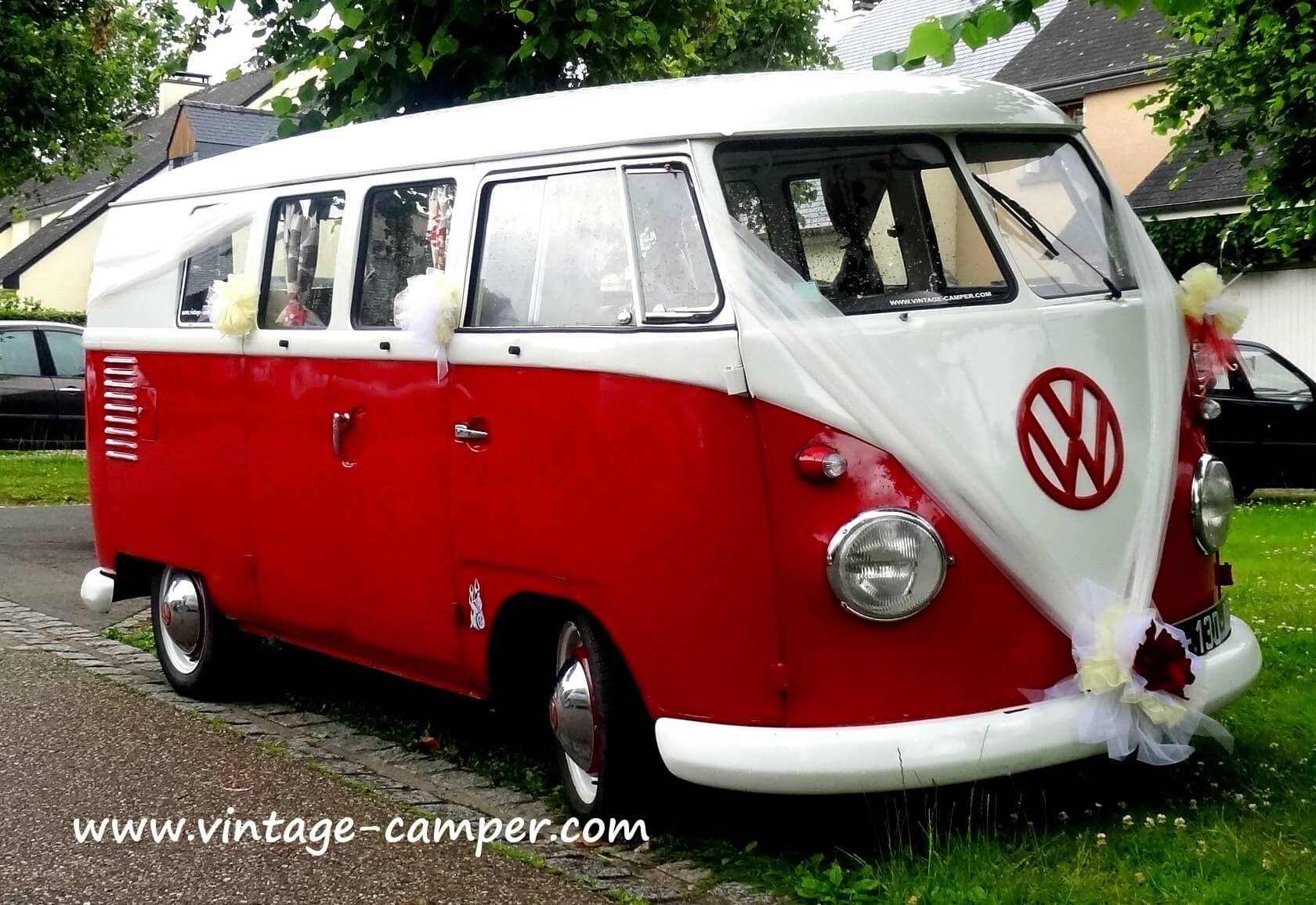 Granpa surfer vintage camper for T1 bordeaux location