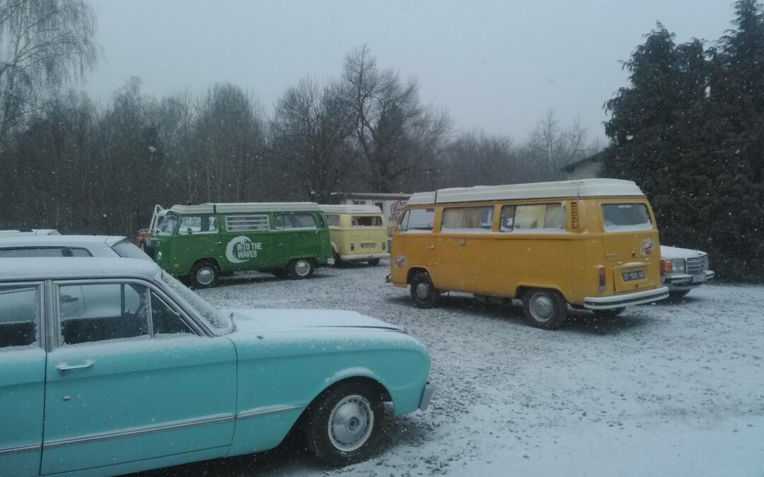 Neige vintage camper for Garage web car saint jean du falga avis
