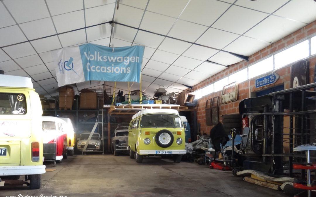 garage scène- Vintage Camper Bordeaux