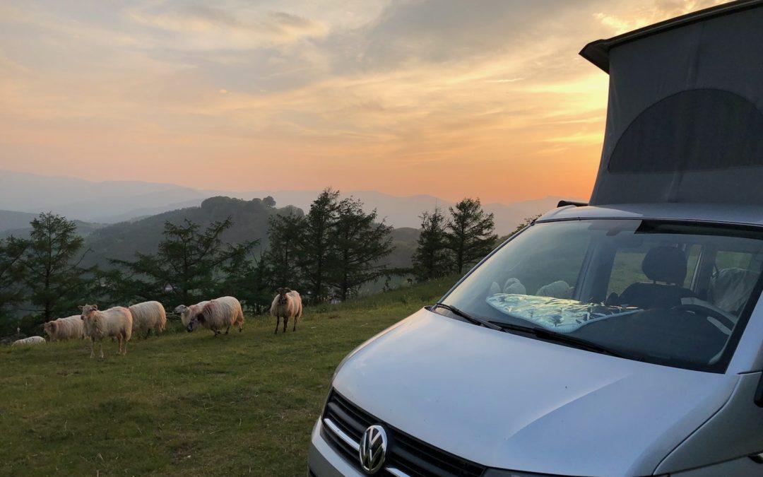 Visite du Pays Basque en van loué
