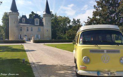 wine tour original – visite des chateaux Bordelais en voiture ancienne