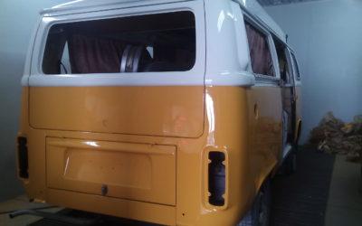 Sierra Yellow – sortie de cabine