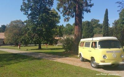 visite de châteaux du médoc et location de van pour entreprise