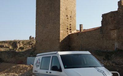 Louer un van aménagé depuis Bordeaux vers le désert des Bardenas