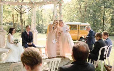 Le combi vw: Star d'un mariage réussi