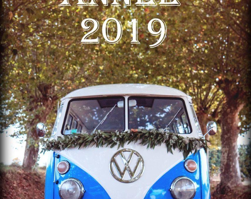 Vintage Camper – Bonne Année 2019