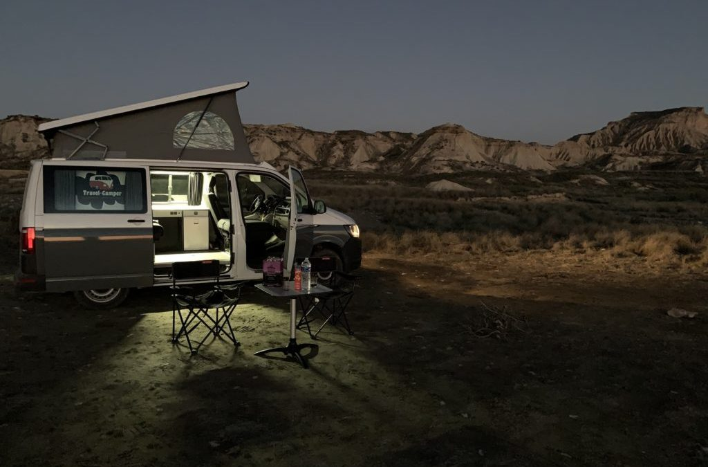 Location california coast – désert des Bardenas – Espagne