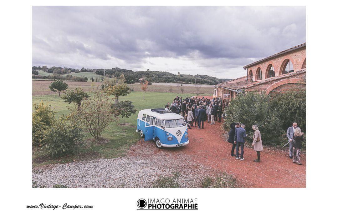 Mariage combi split – Vintage Camper Toulouse