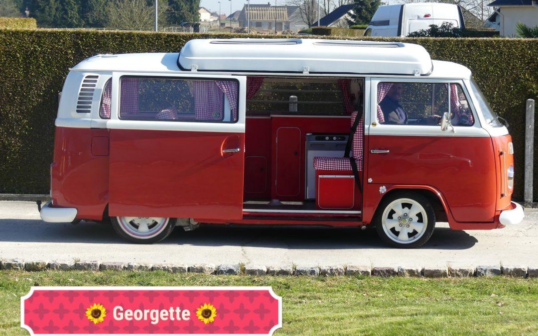 Baptème des combis-vintage camper Normandie