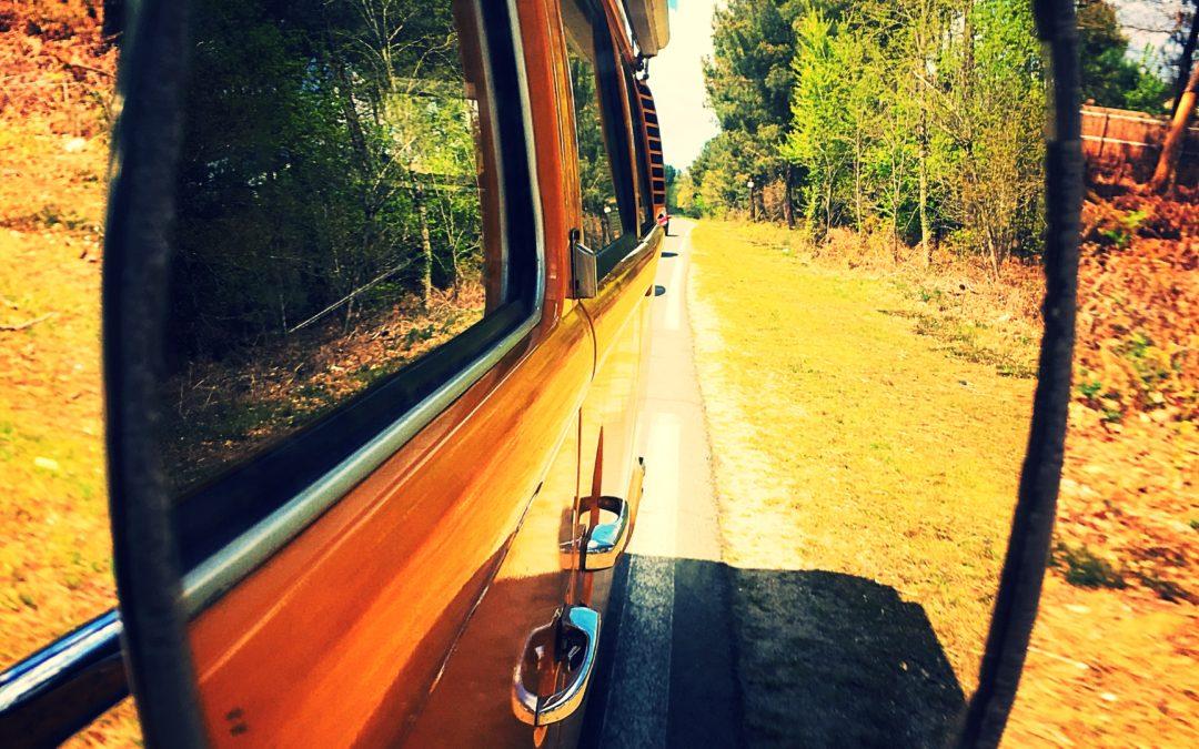 Toujours en combi avec Vintage Camper Sur la route