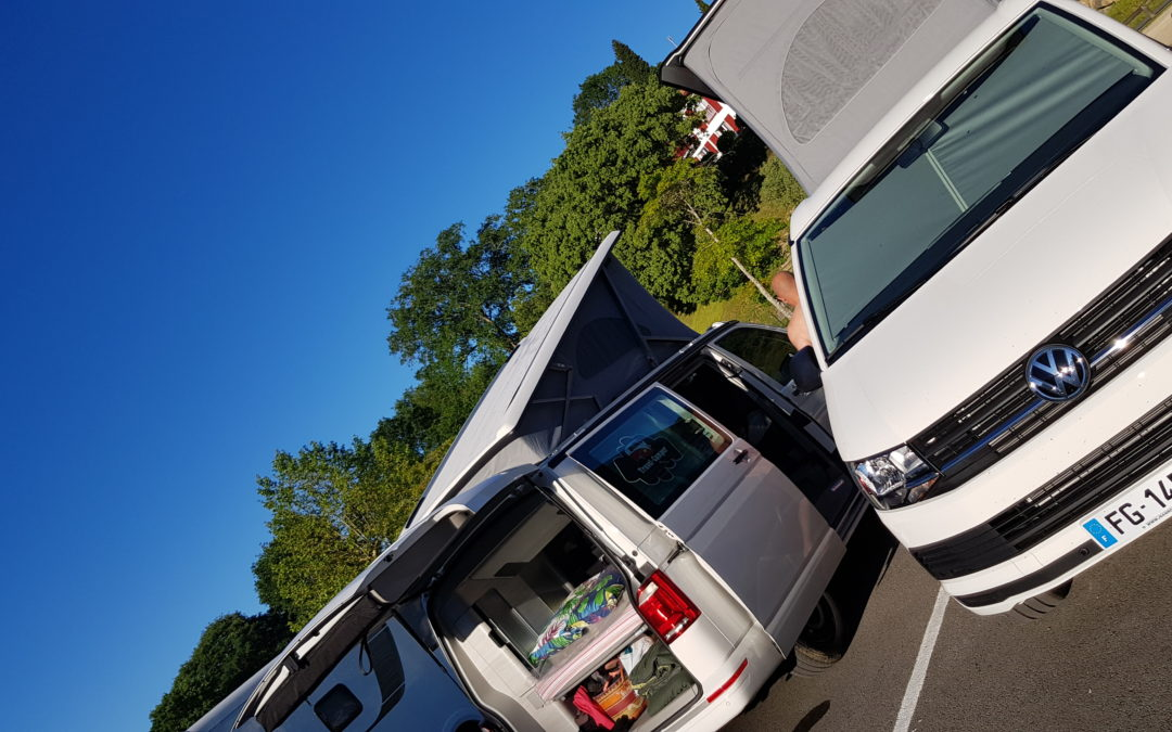 Locations transporter t6 California coast – Travel Camper Bordeaux