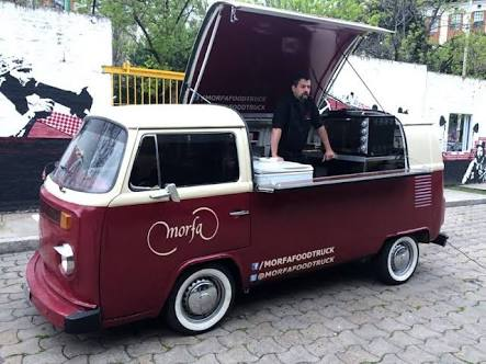 Food truck pour l'agence vintage camper de Lyon
