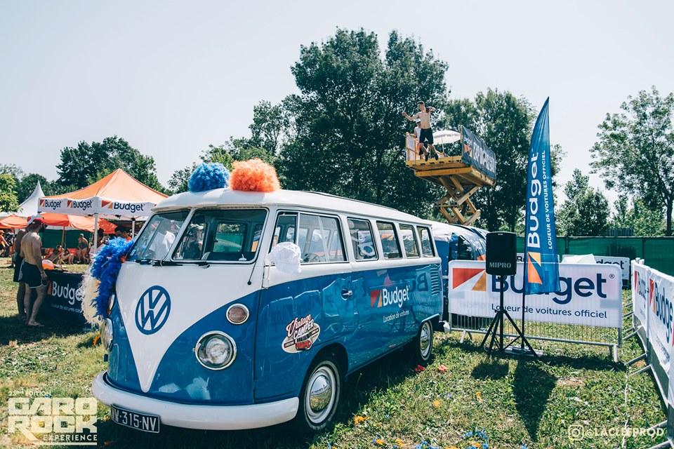 Combi minibus 9 places stand Budget- Festival Garorock Marmande