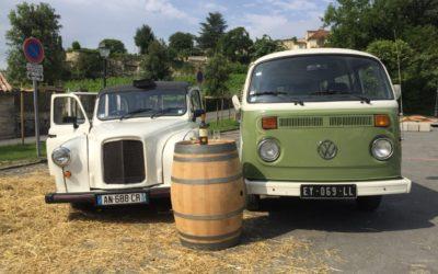 Location minibus wine tour – St Emilion