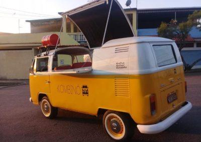 Combi food truck vintage lyon