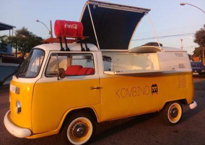 Yellow food truck location lyon rhone alpes