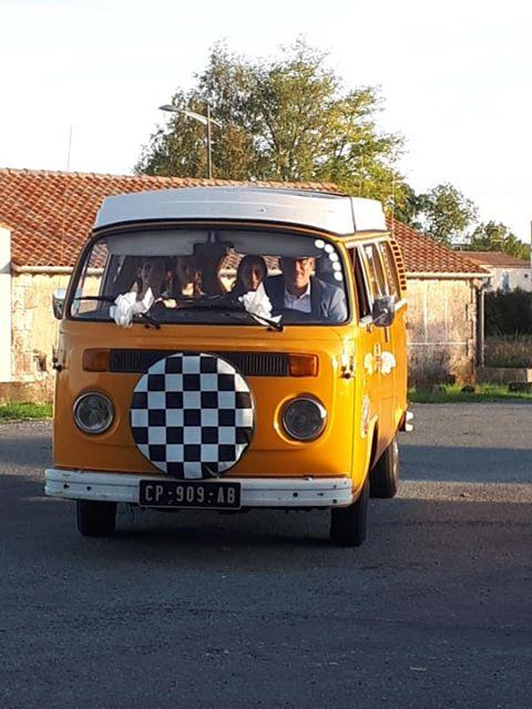 Mariage en Combi VW – Vintage Camper Bordeaux