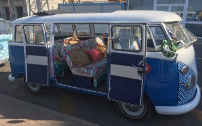 Runner, transport artiste – minibus vintage Lyon