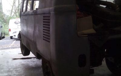 rénovation combi split – Vintage Camper Bordeaux