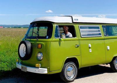 chayote vintage camper jura suisse combi vw T2 baywindow lavieenvan vanlife seventies