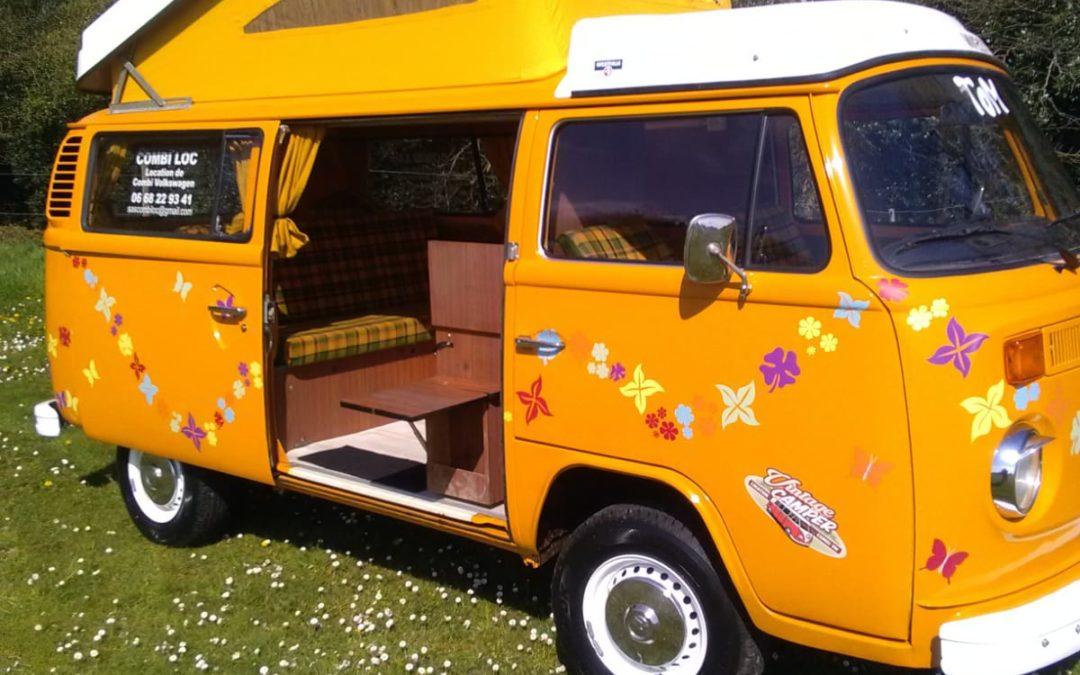 location van aménagé – Vintage Camper Normandie