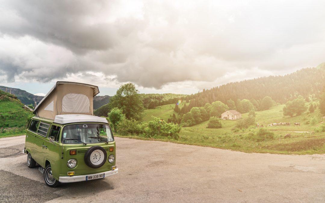 Et si vous visitiez le Haut Jura ? – avec Vintage Camper Jura