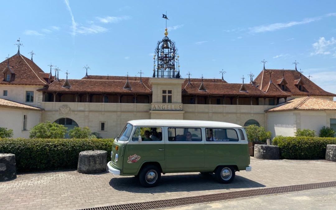 Visite du village de Saint Emillion – Vintage Camper Bordeaux