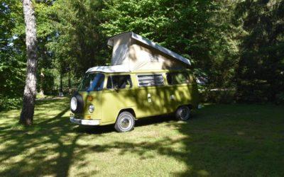 Premier Road Trip – Vintage Camper Jura
