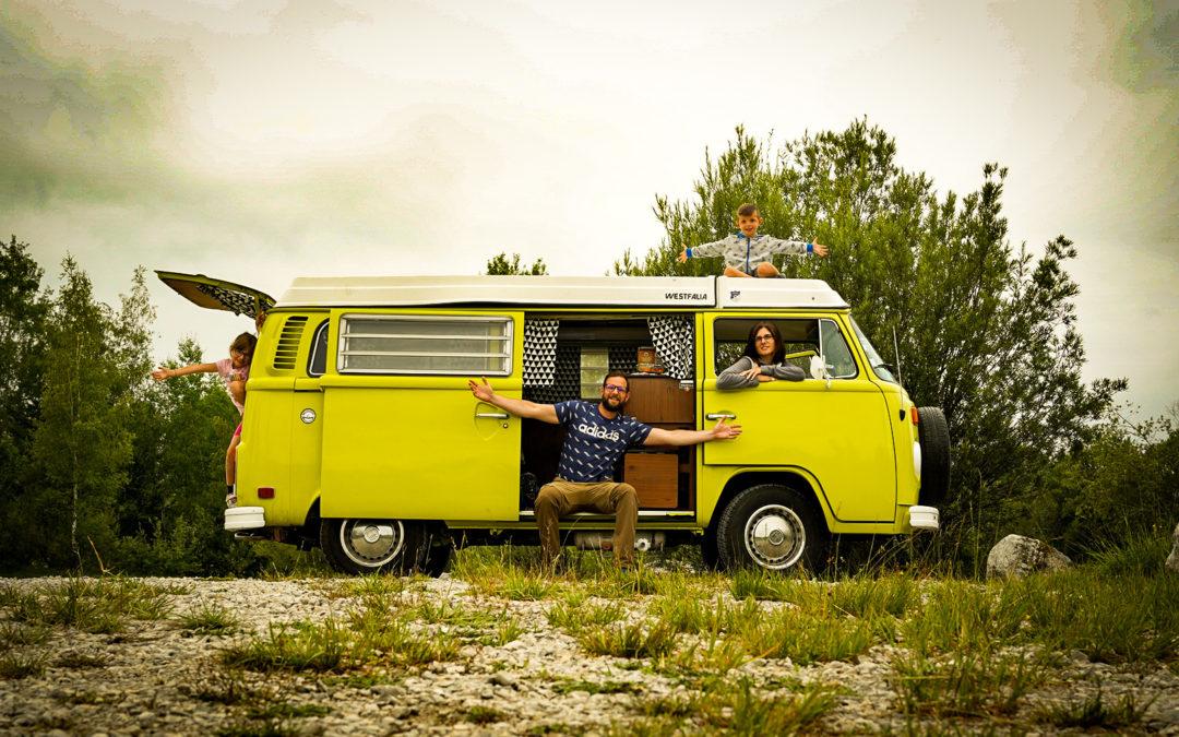 1 semaine de Vanlife – Vintage Camper Jura