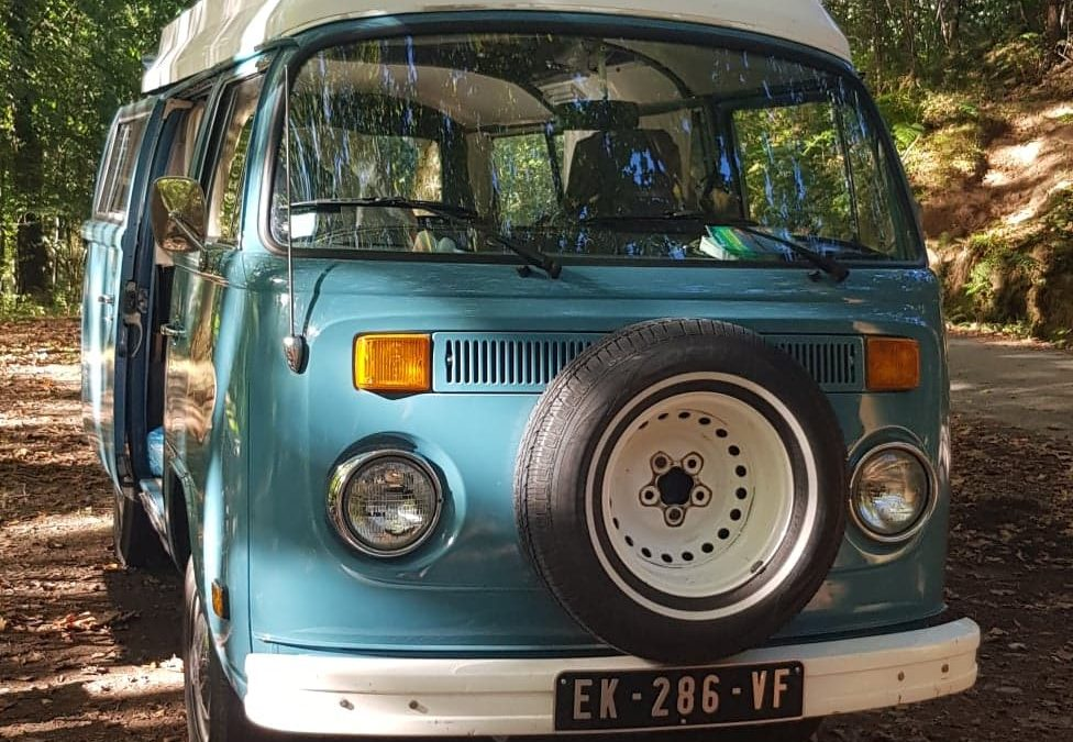 Location combi vw Pays Basque – Vintage Camper