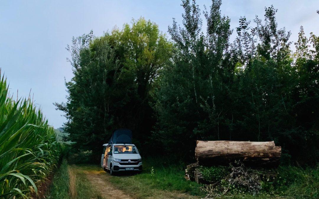 Location van aménagé Dordogne au départ de Bordeaux
