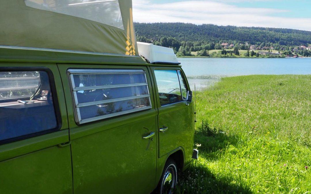 Camping sauvage – Vintage Camper Jura