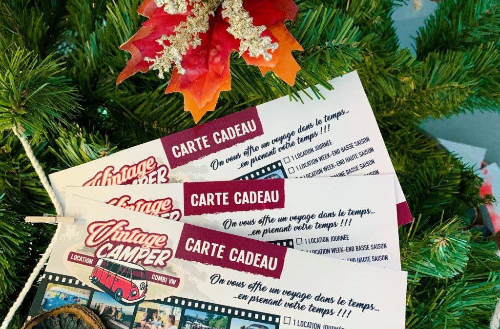 Bons Cadeaux de Noël – Vintage Camper France
