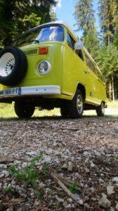 Vacances en combi VW – Vintage Camper Jura