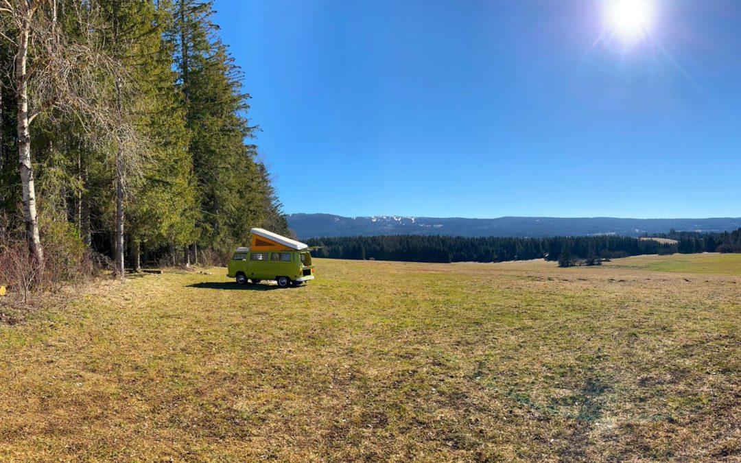 Partir du jour au lendemain (Partie 1) – Vintage Camper Jura