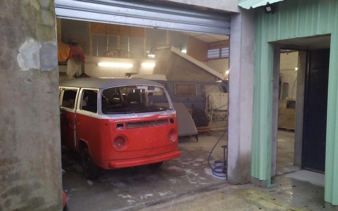Carrosserie spécialiste VW anciennes – Vintage Camper Bordeaux
