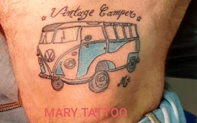 Tatouage combi VW – Vintage Camper France