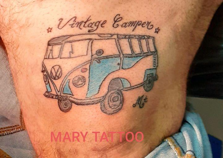 Tatouage combi VW – Vintage Camper France
