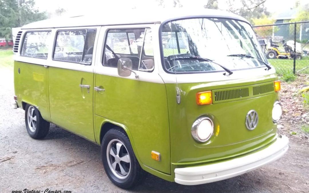 Nouveau combi Volkswagen – Vintage Camper Bordeaux