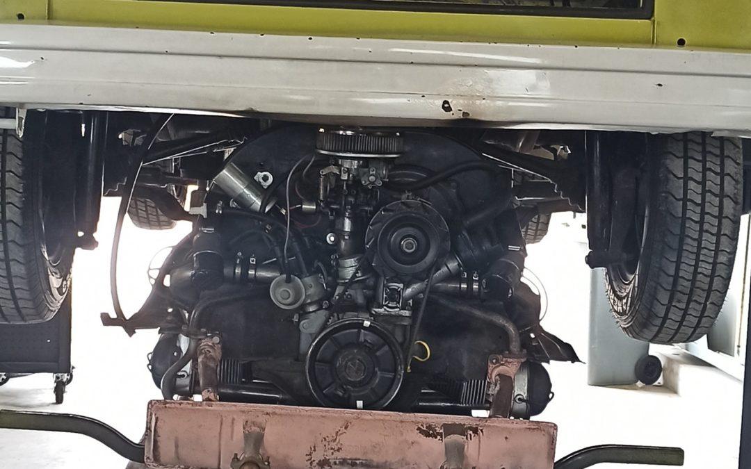 Un moteur tout neuf – Vintage Camper Jura