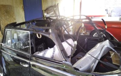 changement de capote cox cabriolet – Vintage Camper Bordeaux