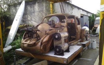VW beetle Star Wars – Vintage Camper Bordeaux