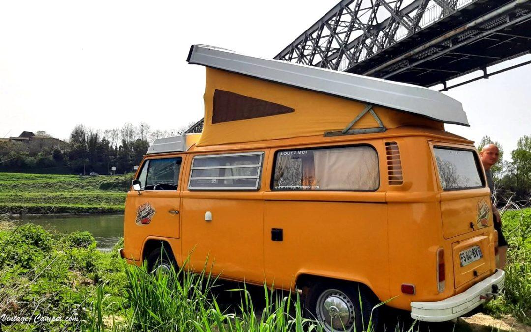 Road trip combi vw en Gironde – Vintage Camper Bordeaux