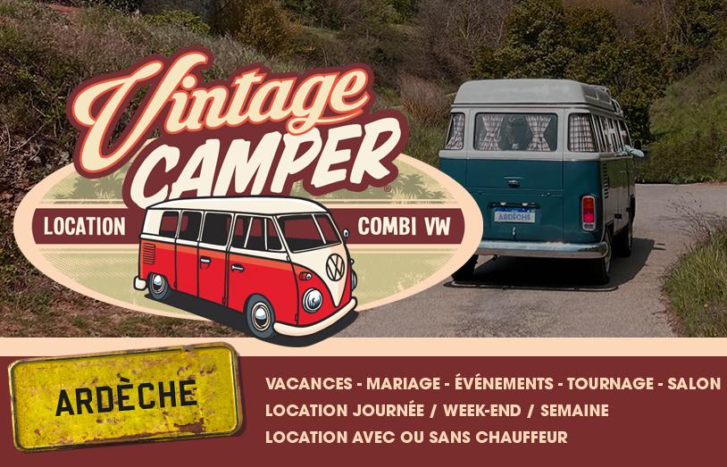 Nouveau logement insolite en Ardèche pour des vacances au cœur de la nature provençale avec Vintage Camper Ardèche