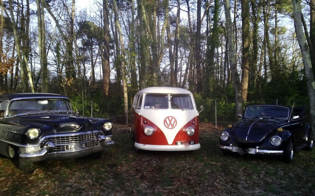 Location voiture de mariés originale – Vintage Camper Bordeaux