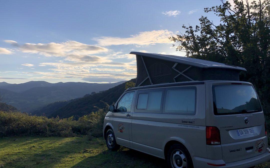 Location van aménagé 5 couchages Volkswagen
